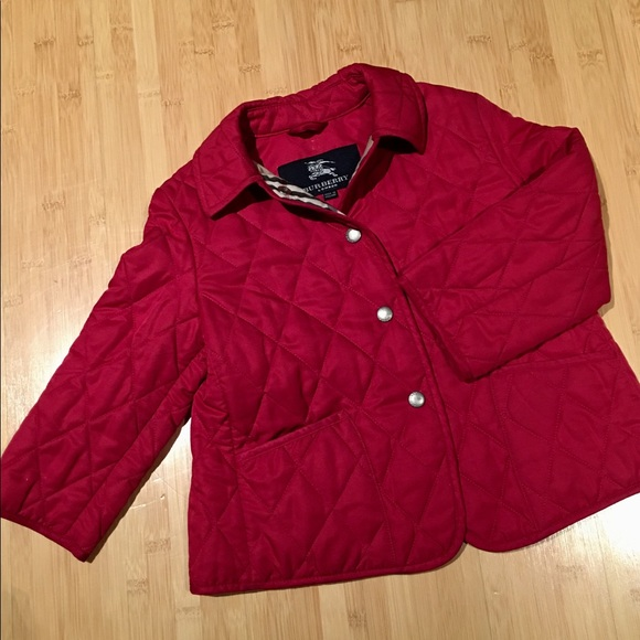 Burberry Jackets Coats Colin Quilted Jacket Girls 34 Poshmark